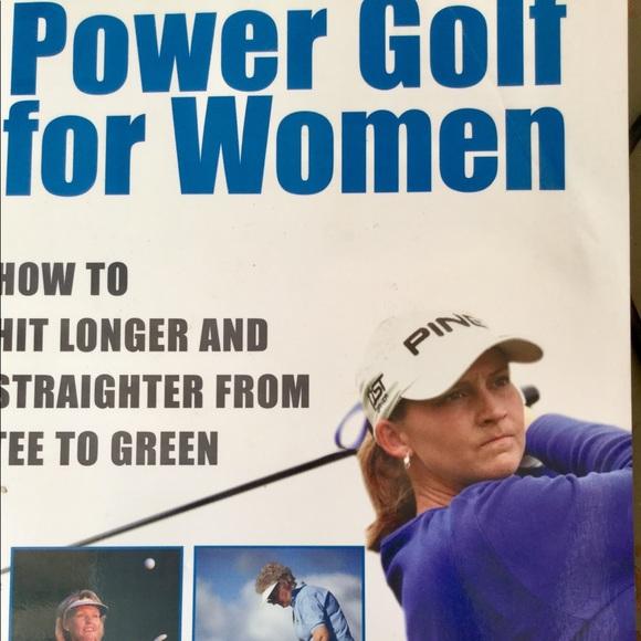 Accents Power Golf For Women Paperback Jane Horn Ec Poshmark